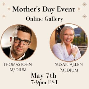 Mother's Day Event with Thomas John